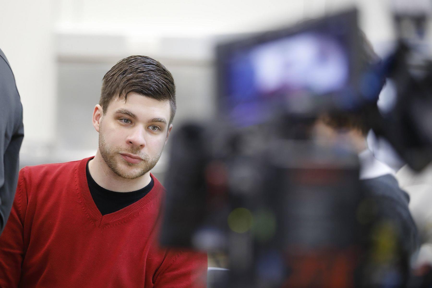 Rashid Ben Dhiab wird für das Göttinger eMagazin LITLOG interviewt