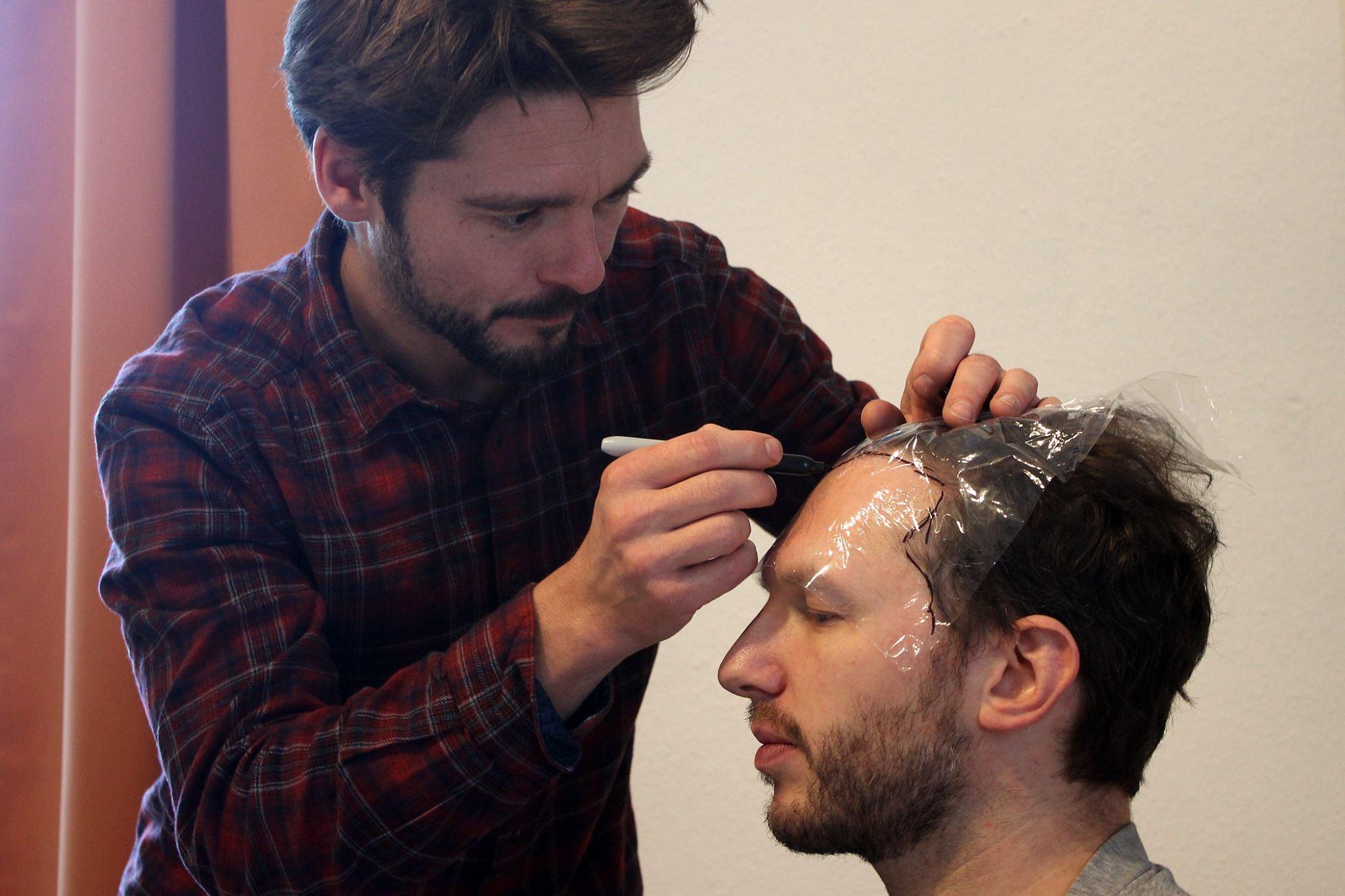 In weniger als drei Wochen wird gedreht… gestern standen Maskentests und Kostümprobe auf dem Programm.